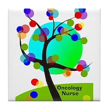 Oncology Nurse 6 Tile Coaster