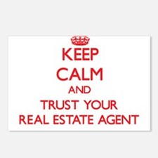 Keep Calm and trust your Real Estate Agent Postcar