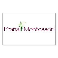 Prana Montessori Logo Decal