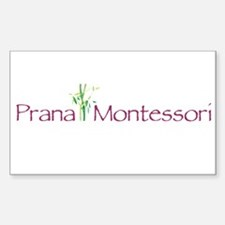 Prana Montessori Logo Decal