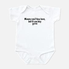 gyros (money) Infant Bodysuit