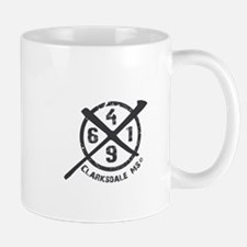 61/49 Crossroads Symbol - Open Charcoal Design Mug