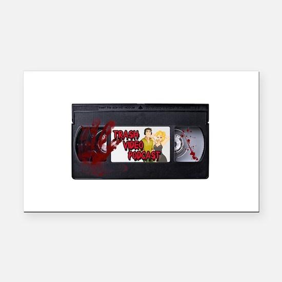 VHS-Tape-Logo.png Rectangle Car Magnet