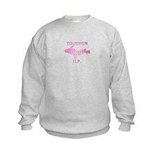 Toughen U.P. In Pink Diamond Plate Sweatshirt