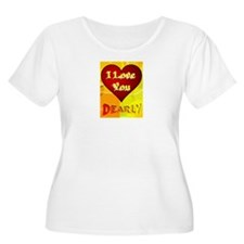 I Love You De T-Shirt