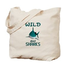 Wild About Sharks Tote Bag