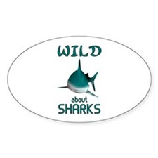 Wild About Sharks Decal