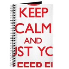 Keep Calm and trust your Referee Journal