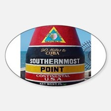 Key West Southern Most Point Monument Decal