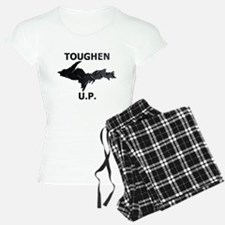 Toughen U.P. In Black Diamond Plate Pajamas