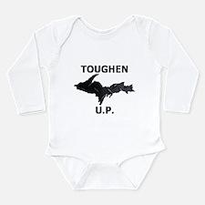 Toughen U.P. In Black Diamond Plate Body Suit