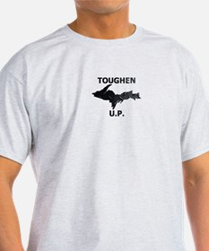 Toughen U.P. In Black Diamond Plate T-Shirt