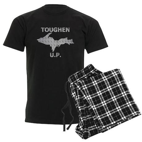 Toughen U.P. In Chrome Diamond Plate Pajamas