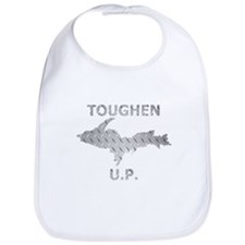 Toughen U.P. In Chrome Diamond Plate Bib