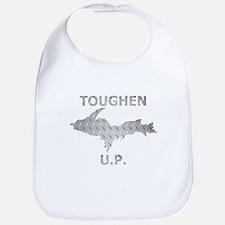 Toughen U.P. In Chrome Diamond Plate Bib