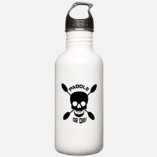 Paddle or Die! Water Bottle