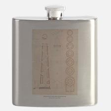 Assateague Light. Flask