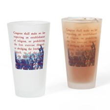 Free Speech Drinking Glass