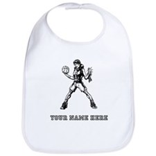 Custom Basketball Girl Bib