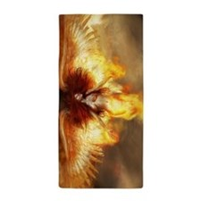 Beautiful Fire Angel Beach Towel