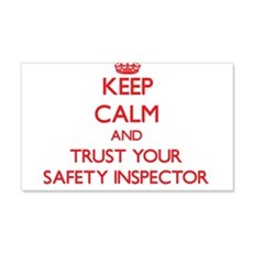 Keep Calm and trust your Safety Inspector Wall Dec