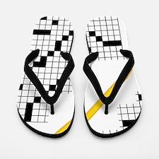 Crossword Flip Flops