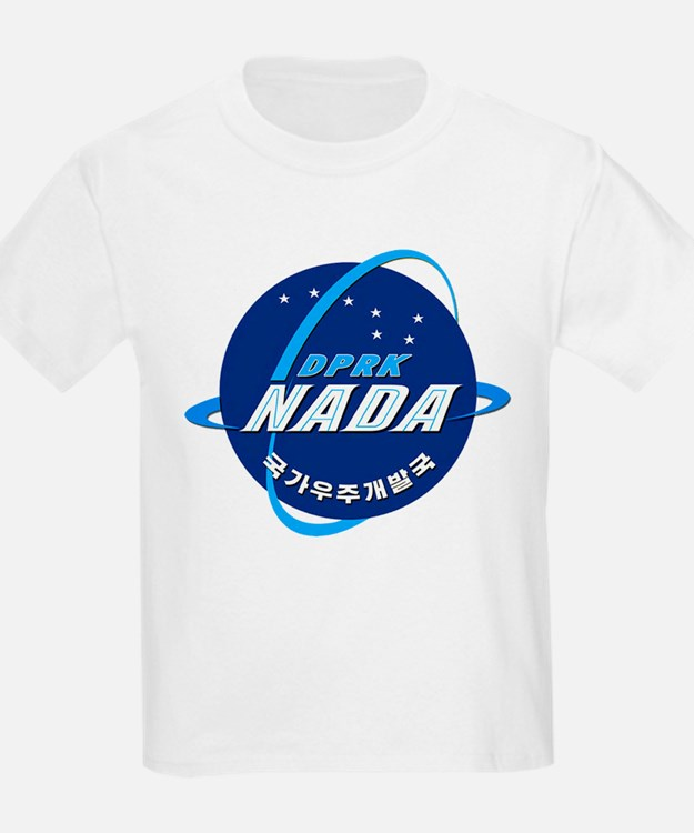 N Korea Space Agency T-Shirt