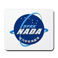 N Korea Space Agency Mousepad