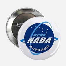 "N Korea Space Agency 2.25"" Button"