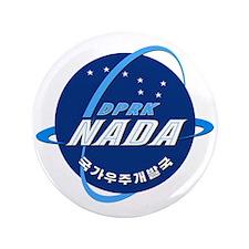 "N Korea Space Agency 3.5"" Button"