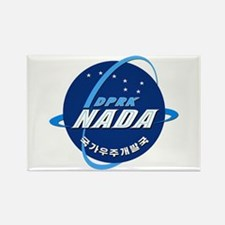 N Korea Space Agency Rectangle Magnet Magnets