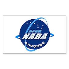 N Korea Space Agency Decal