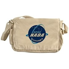 N Korea Space Agency Messenger Bag