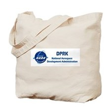 N Korea Space Agency Tote Bag
