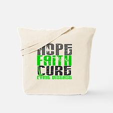 Lyme Disease HopeFaithCure1 Tote Bag