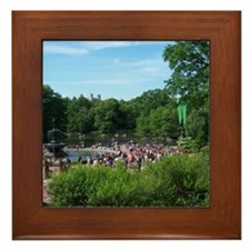 Central Park Framed Tile
