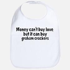 graham crackers (money) Bib