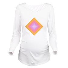 Good Karma Long Sleeve Maternity T-Shirt
