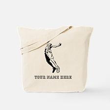 Custom Tall Basketball Player Tote Bag