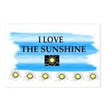 I LOVE THE SUNSHINE Postcards (Package of 8)