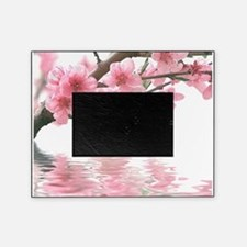 Flowers Water Reflection Picture Frame