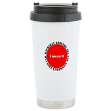 Backseat Driver Travel Mug