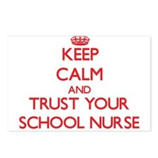 Keep Calm and trust your School Nurse Postcards (P