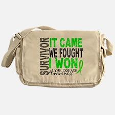 Lyme Disease Survivor 2 Messenger Bag