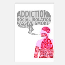 What smoking does? Postcards (Package of 8)