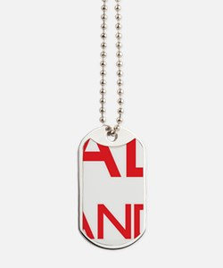 Keep Calm and trust your Scout Dog Tags