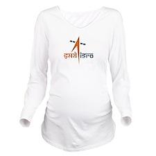 ISRO Long Sleeve Maternity T-Shirt