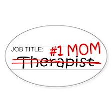 Job Mom Therapist Decal