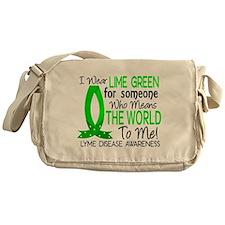 Lyme Disease MeansWorldToMe1 Messenger Bag