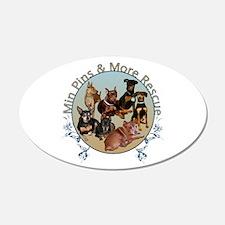 Mpmr Flourish Logo Wall Decal